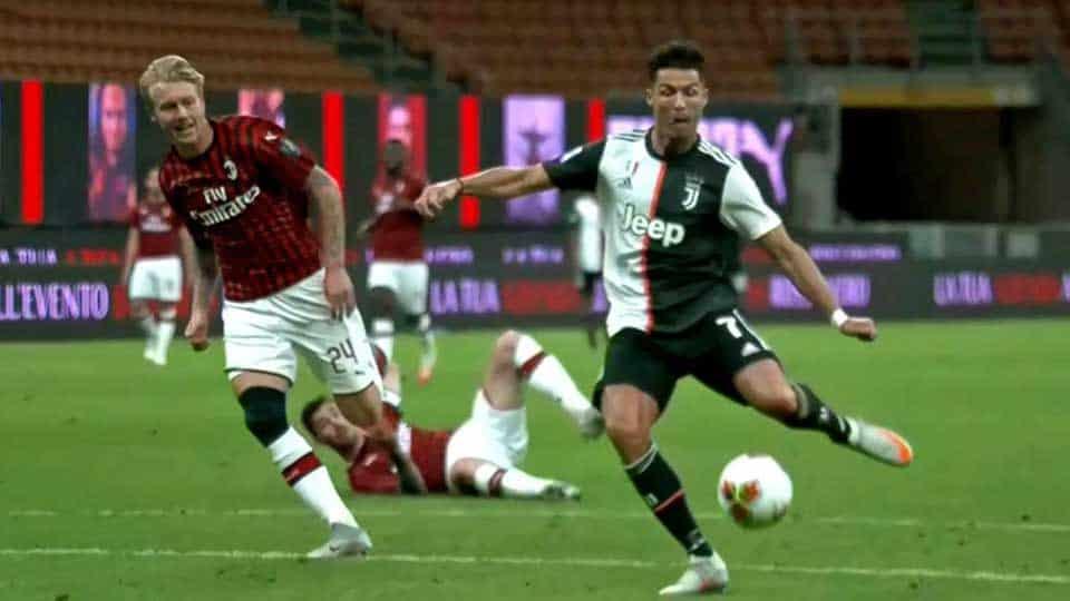 Italie : Milan 4 – Juventus 2
