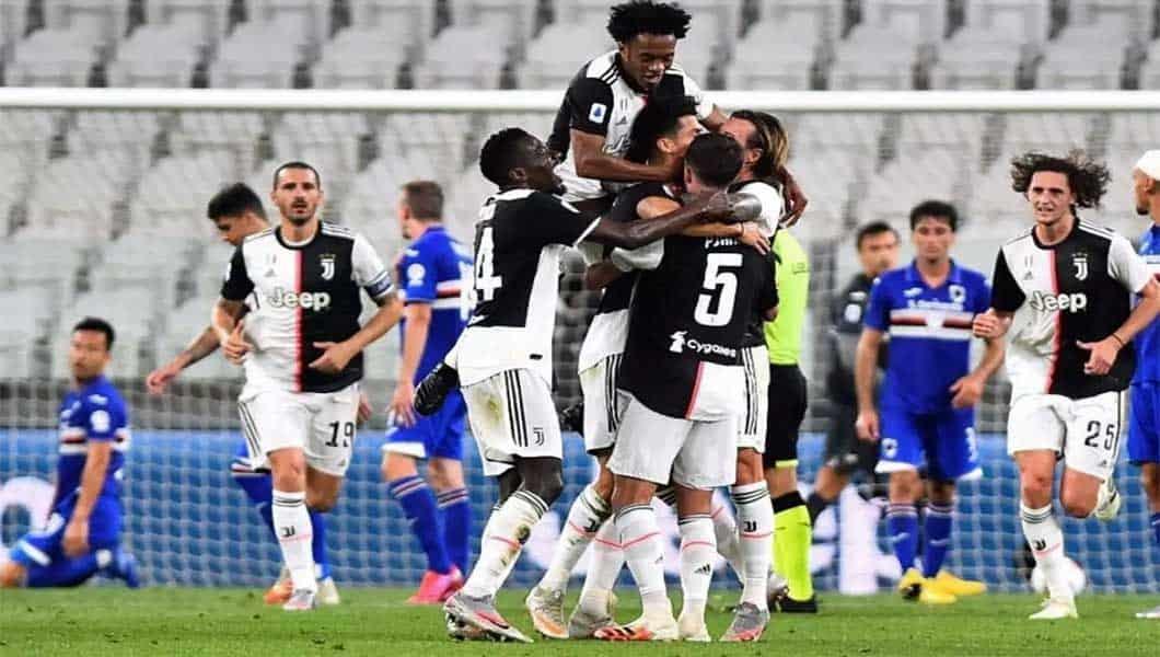 Serie A : Juventus 2 – Sampdoria 0