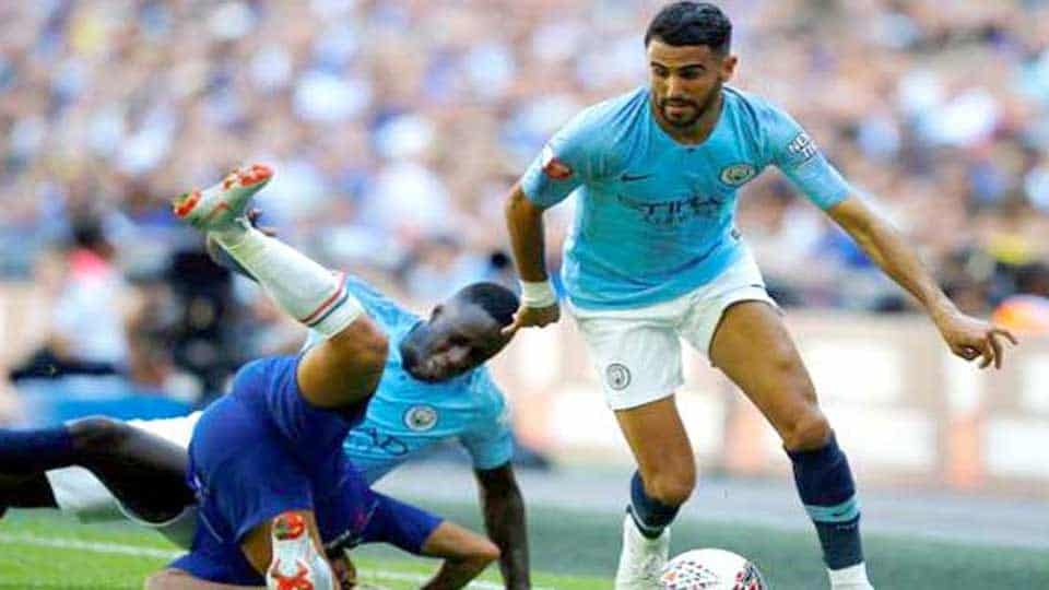Le but de Mahrez face à Arsenal en Carabao Cup