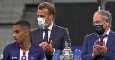 Macron Coupe france