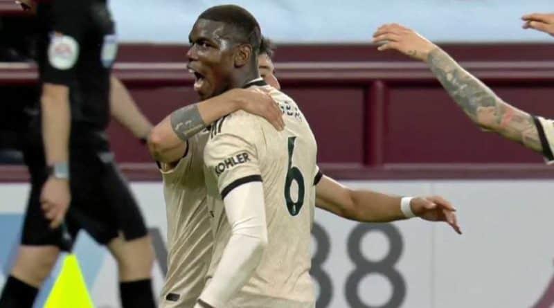 Premier League vidéo : Aston Villa – Manchester United (0-3), Enfin un but de Paul Pogba