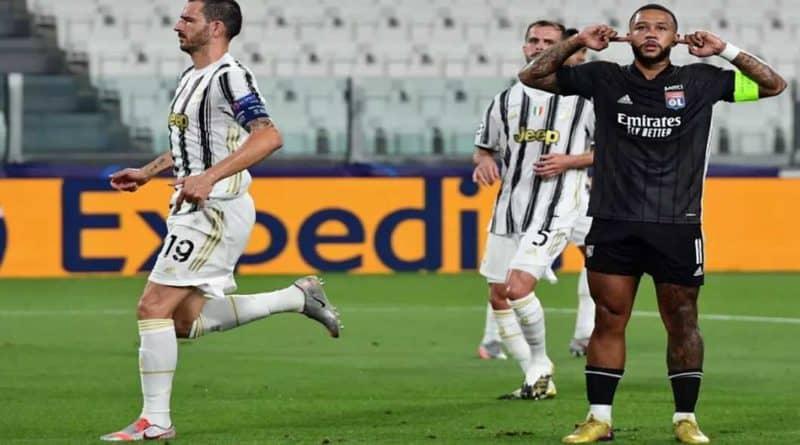 Ligue des Champions : Juventus – Lyon (2-1) , Les Lyonnais défieront Man City
