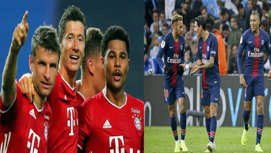 C1 : PSG 0 – Bayern Munich1