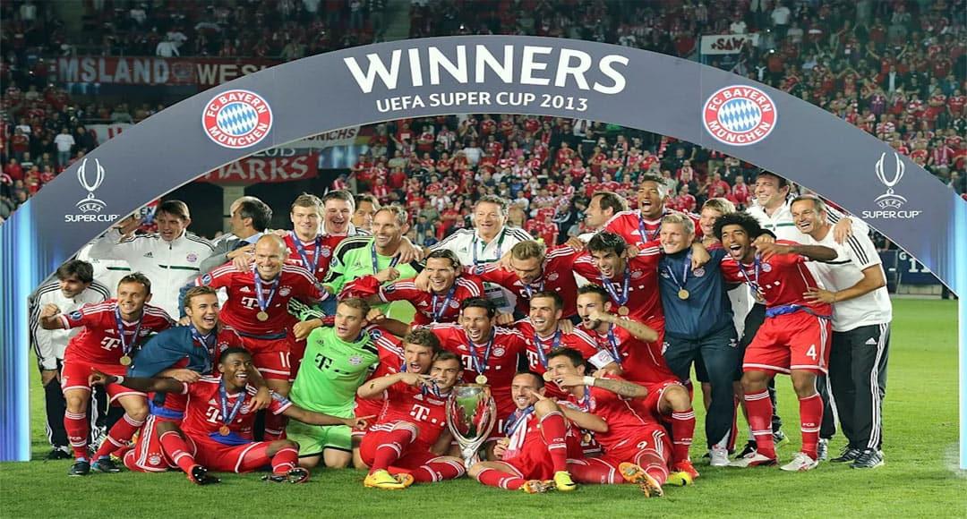 Super Coupe UEFA : Bayern Munich 2 – FC Seville 1