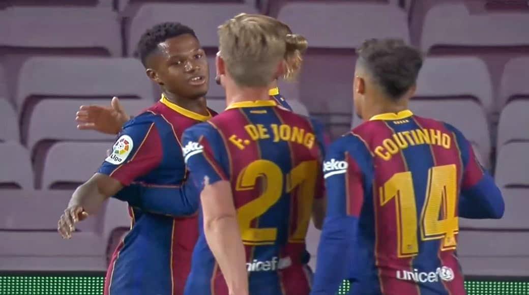 Liga : FC Barcelone 4 – Villarreal 0