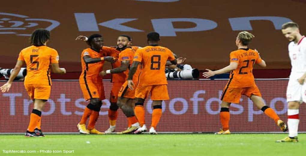 Ligue des nations : Pays Bas 1 – Pologne 0