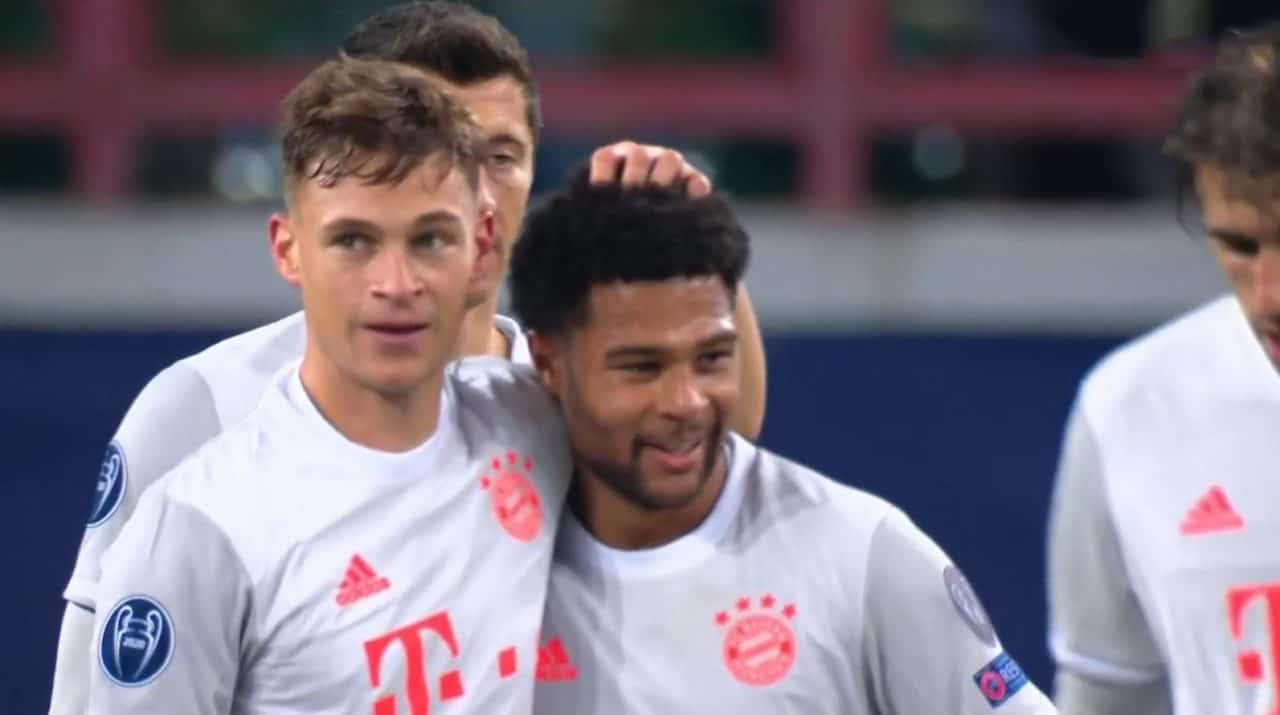 C1 : Lokomotiv Moscou – Bayern Munich (1- 2)