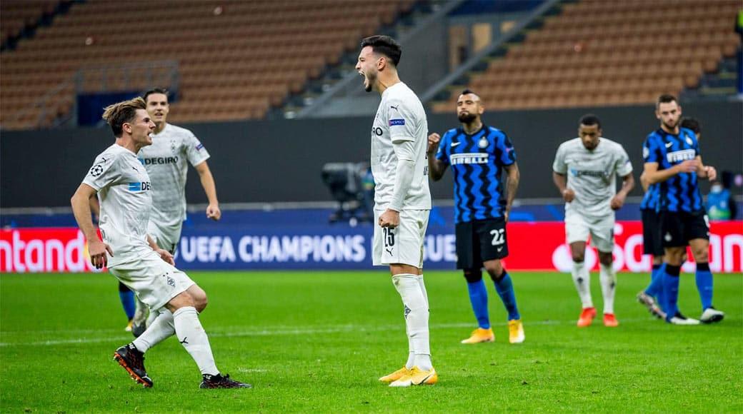 C1 : Inter Milan 2 – Monchengladbach 2 ( But de Bensebaïni)