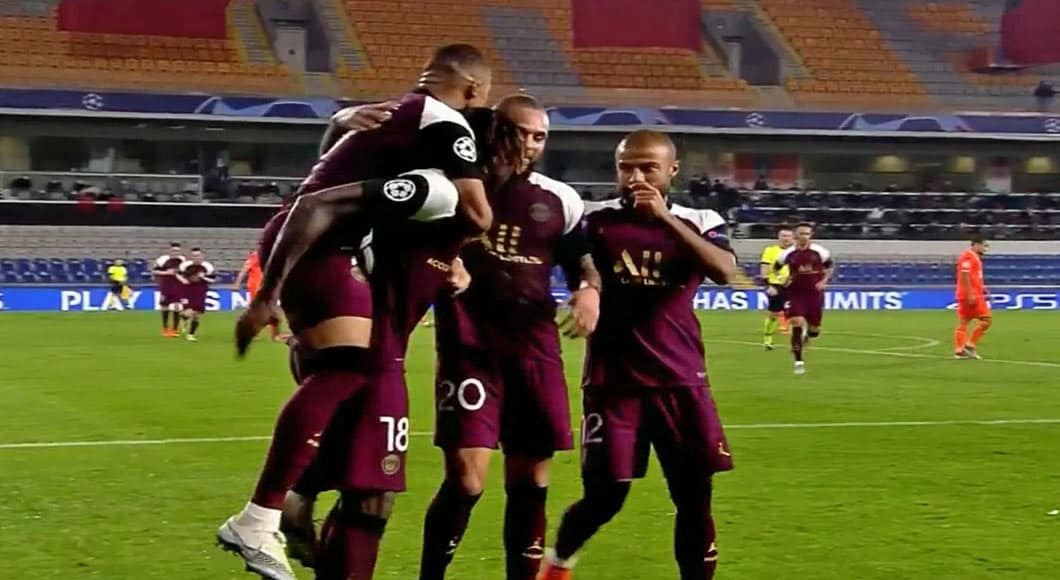 France : PSG – Brest ( 3-0)