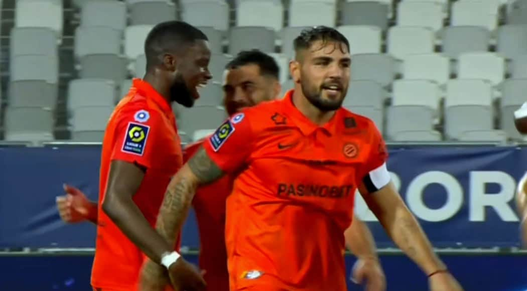 Montpellier : Andy Delort buteur face à Bordeaux
