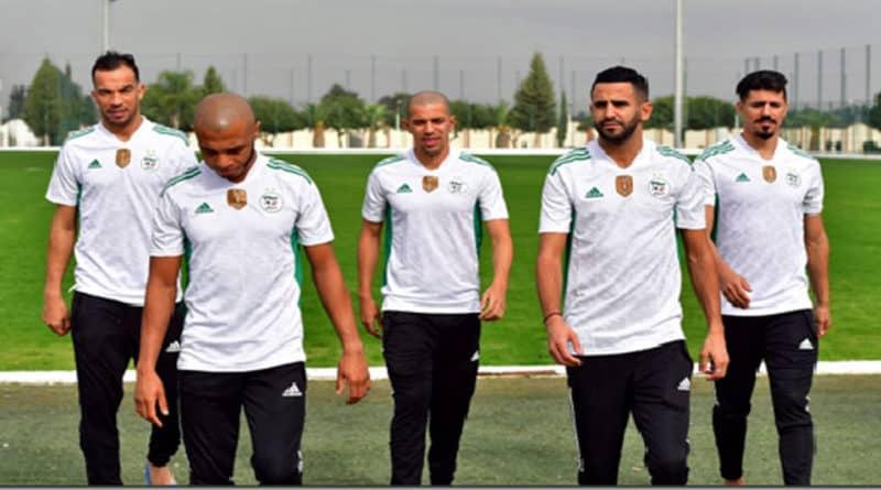 maillot équipe algérie