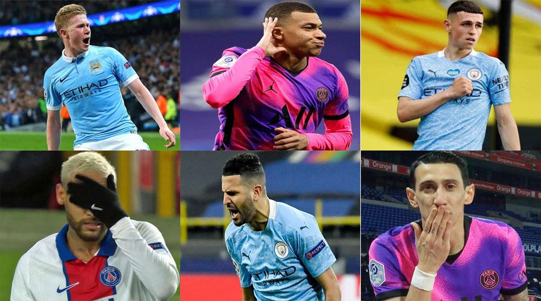PSG Manchester City