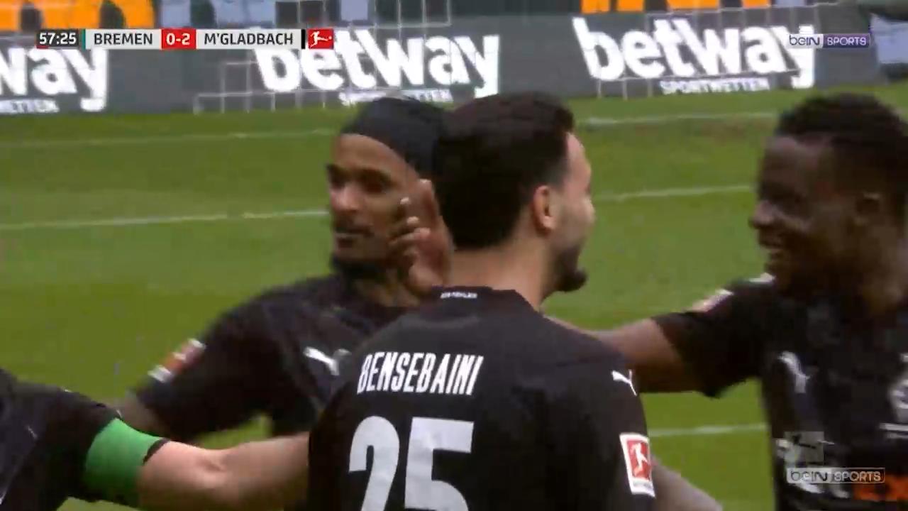 Ramy Bensebaini buteur face au Werder Breme