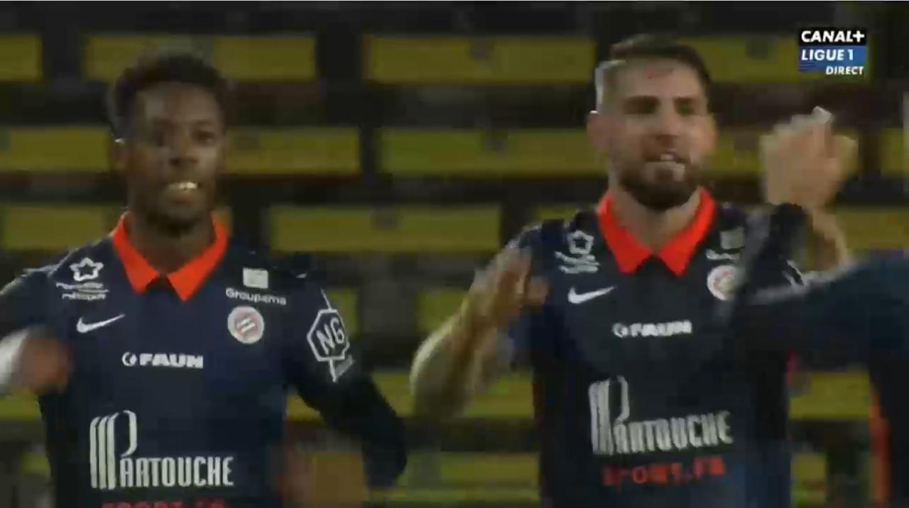 Le but de Andy Delort face au FC Nantes