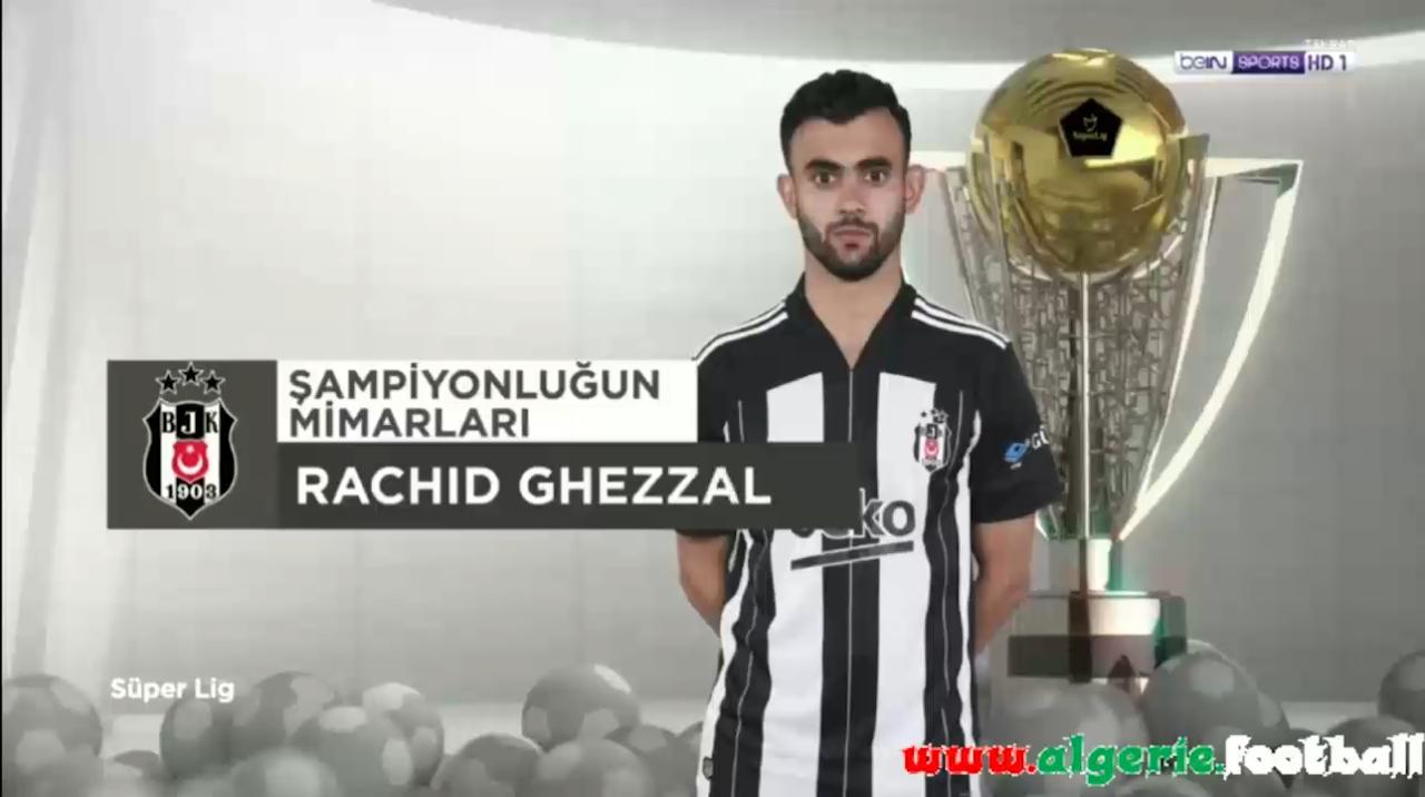 Les Buts de Rachid Ghezzal sous les couleurs de Besiktas