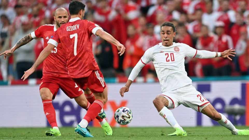EURO 2020 : RUSSIE 1 – DANEMARK 4