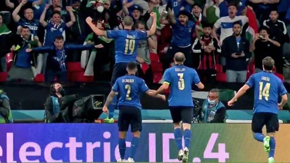 Finale EURO 2020 : Italie – Angleterre (1-1)